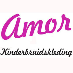 Afbeeldingsresultaat voor amor kinderkleding bruidskleding logo